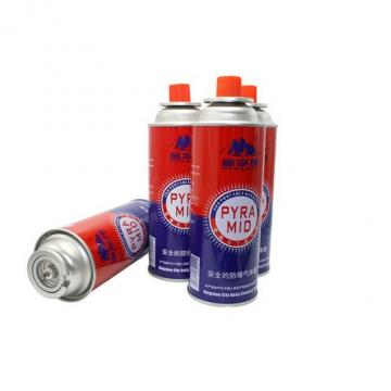 Butanel Fuel Canisters for Portable Camping Stoves  300ml factory butane gas