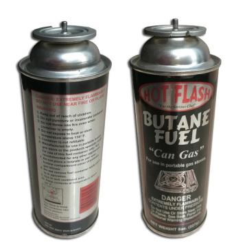 Butane Gas Canister Aerosol Mounting Cup Gas Stove Valves With Actuators refillable 220g-250g
