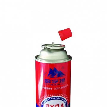 Gas butane cartridge empty fuel canister for portable gas stove