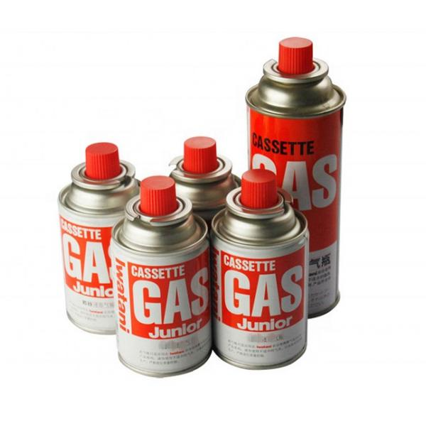 227g Round Shape Liquefied Butane Gas for Cassette Stove