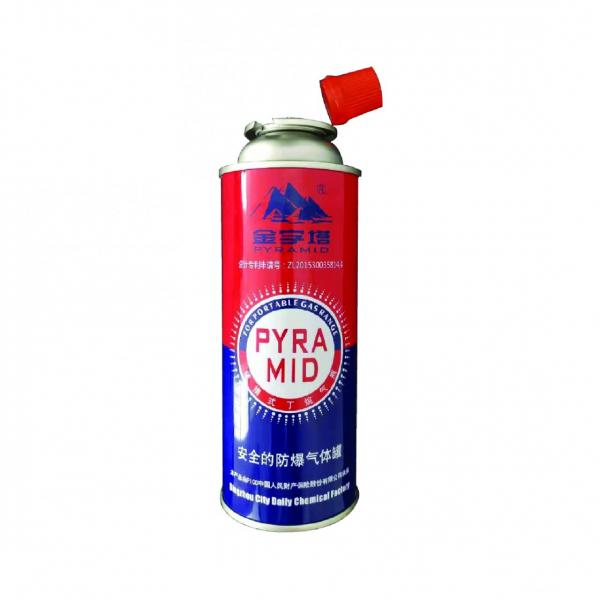 MSDS ISO Liquefied Butane Gas for Portable Cassette Stove of Good Quality